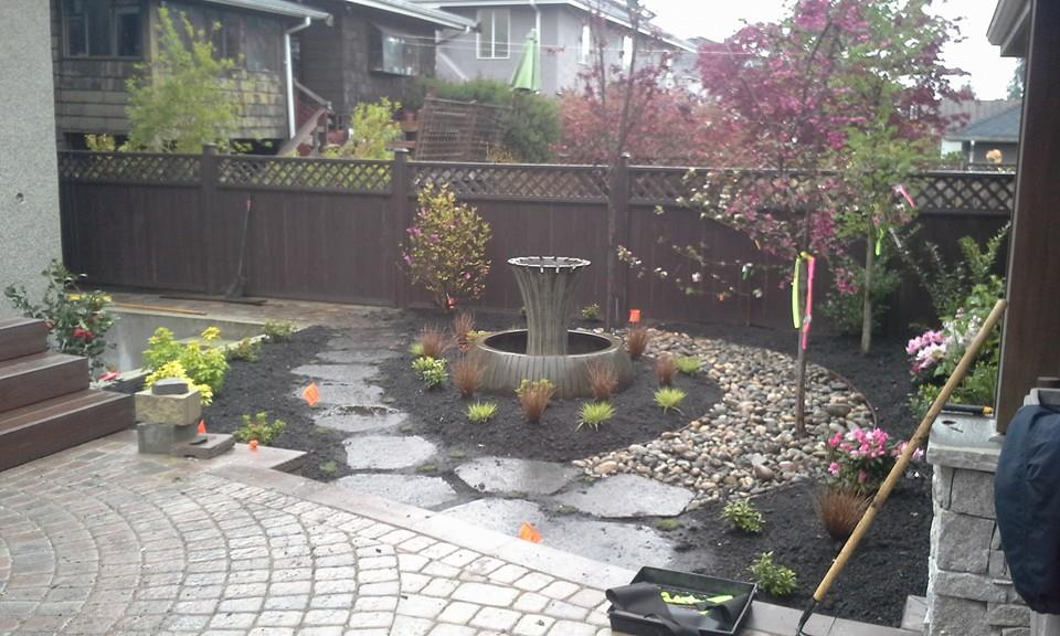 vancouver new home landscape installation